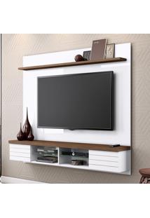 Painel Para Tv Esplendor 2001084 Branco/Malte - Belaflex Móveis