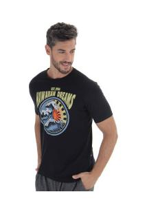 Camiseta Hd Old School 3278A - Masculina - Preto