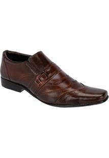 Sapato Social Leoppé Masculino Em Couro - Masculino