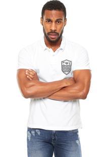 Camisa Polo Osklen Slim Branca