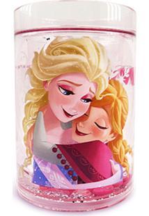 Caneca Minas De Presentes Frozen Rosa