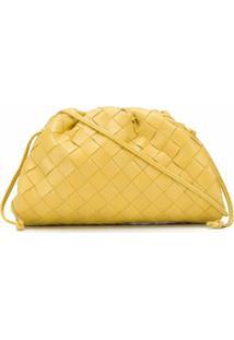 Bottega Veneta Bolsa The Mini Pouch - Amarelo