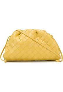 Bottega Veneta Clutch The Mini - Amarelo