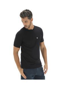 Camiseta Timberland Dunstan Rvr Pocket Tee - Masculina - Preto