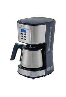 Cafeteira Elétrica Black & Decker Gourmand Gris Cinza E Inox Para Café Em Pó - Cm300G