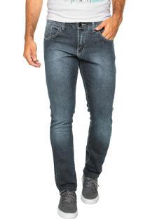 Calça Jeans Hurley Jeans 84 Slim Azul