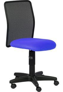 Cadeira Diretor Tela Travel Azul