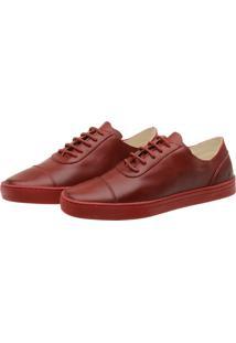 Tênis Sneaker Stepsgreen Hyams 1211 Vermelho