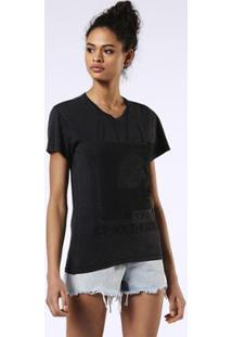Camiseta Diesel T-Sully-Ba - Feminino-Preto