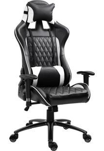 Cadeira Gamer Duty Preta E Branca