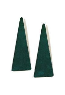 Brinco Triangulo Olodum - Verde Estandarte - U