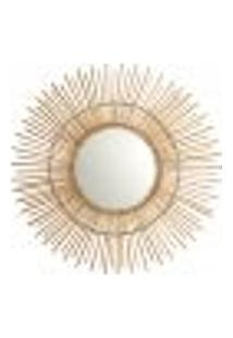 Espelho Decorativo Flex 60 X 60 Cm Palha