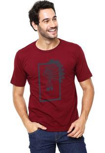 Camiseta Rgx Indian Bordô