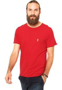 Camiseta Sergio K Tag Vermelha