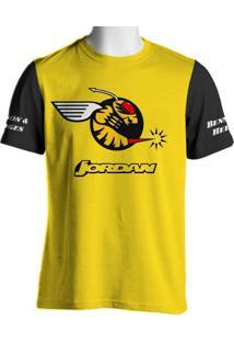 Camiseta Fórmula Retrô Jordan Frentzen 1999 - Masculino