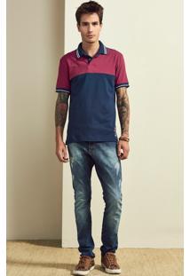 Camisa Polo Slim Masculina Adulto