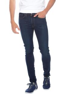 Calça Jeans Levis 519 Super Skinny Azul Escura Azul