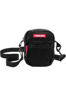 Bolsa Lateral Shoulder Bag Overking V1 Preto