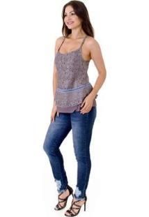 Calça Jeans Opera Rock Skinny Feminina - Feminino