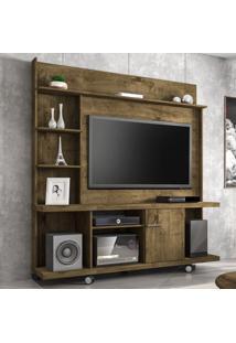 Estante Para Tv Até 47 Polegadas 1 Porta Taurus Rústico - Bechara Móveis