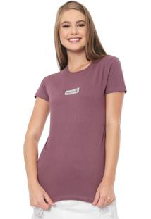 Camiseta Hurley Hot Box Roxa