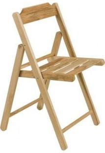Cadeira Dobrável C/ Abamento Envernizado - Beer Teca - Tramontina