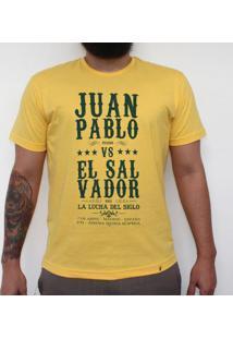 La Lucha Del Siglo - Camiseta Clássica Masculina