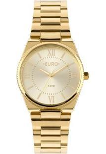 Relógio Euro Feminino New Basic - Eu2035Ypa/4D Eu2035Ypa/4D - Feminino-Dourado