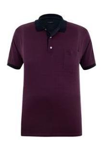 Camisa Polo Plus Size Escócia Masculina - Masculino