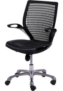 Cadeira Office Age- Preta- 100X60X48Cm- Or Desigor Design