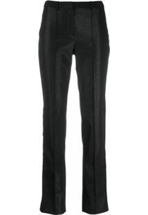 Karl Lagerfeld Calça De Alfaiataria - Preto