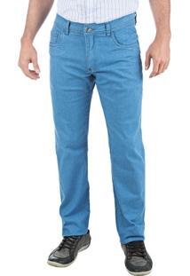 Calça Colombo Jeans Azul Lisa Upper
