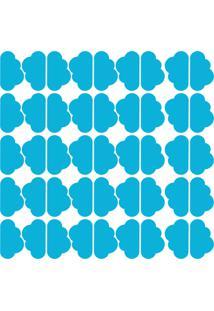 Adesivo De Parede Nuvens Azul Celeste 45Un