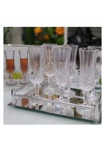 Conjunto De 6 Taças De Vidro Transparente