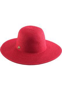 ... Chapéu Aba Longa Manly Feminino - Feminino-Vermelho 49a1888417f