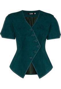 Clan Colete Assimétrico - Verde