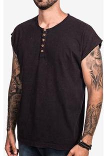 Camiseta Hermoso Compadre Oversized Marmorizada Masculina - Masculino-Marrom