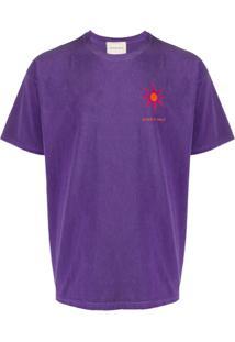 Nicholas Daley Camiseta Cosmic Sun De Algodão - Rosa
