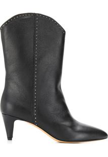 The Seller Pointed Ankle Boots - Preto