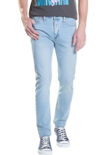Calça Jeans Skinny Levis - Masculino-Azul