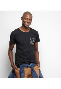 Camiseta Coca-Cola Bolso Floral Masculina - Masculino