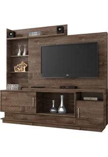 Estante Para Home Theater Adustina Chocolate 178 Cm