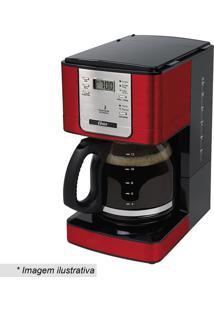 Cafeteira Flavor- Inox & Vermelha- 1,8L- 220V