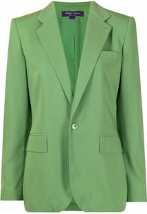 Ralph Lauren Collection Jada Single-Breasted Blazer - Verde