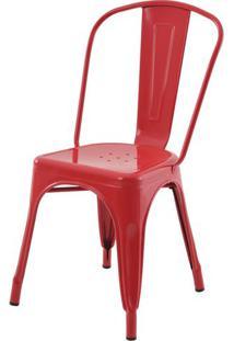 Cadeira Iron Tolix Vermelho - 16652 - Sun House