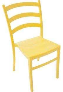 Cadeira Nádia De Polipropileno - Cor Amarela - Tramontina