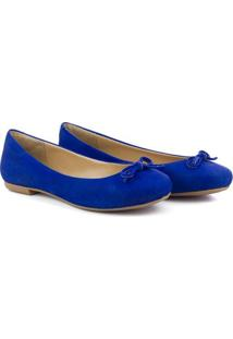 Sapatilha Q & A Casual Feminina - Feminino-Azul Royal
