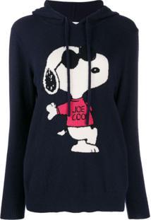 Chinti & Parker Suéter De Cashmere Com Capuz - Azul