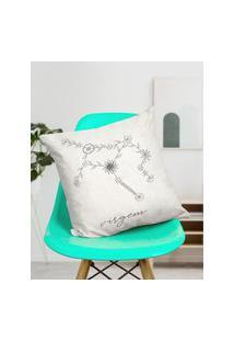 Amaro Feminino Design Up Living Capa De Almofada Signo 42X42, Virgem