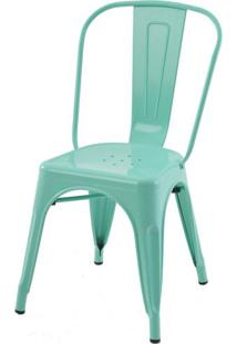 Cadeira Iron Tolix Verde - 16653 - Sun House